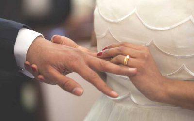 Aan welke hand draag je de trouwring, links of rechts?